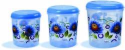 Plastic Printed Round Container HF357