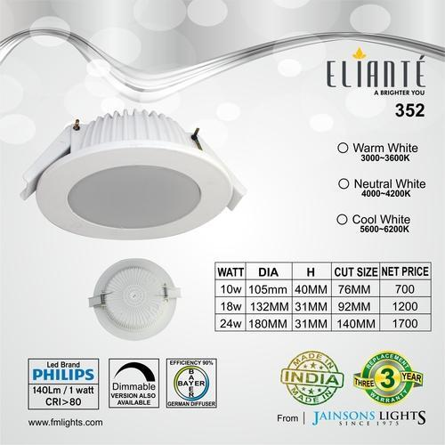Led downlight wholesale trader from new delhi aloadofball Image collections