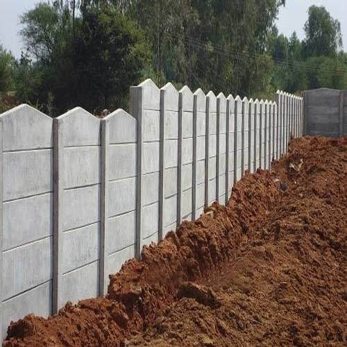 Ready Made Wall Compound : Godown wall readymade manufacturer from