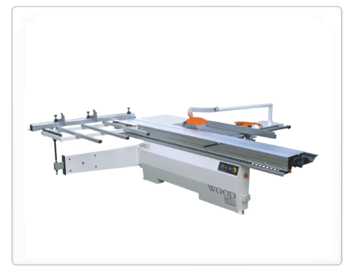 Panel Saw With Scoring Cutter