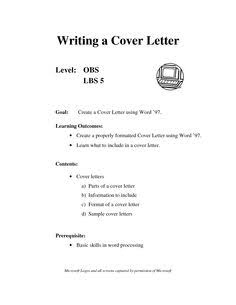 CVS And CV Cover Letter Writing Service