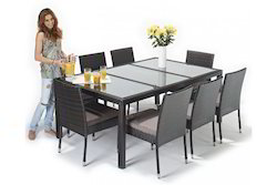 Rattan Dining Table