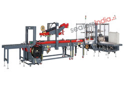Case Erection,Taping & Strapping Machine