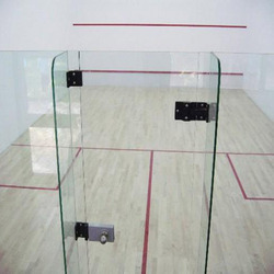Plain Squash Court Hard Plaster System Flooring
