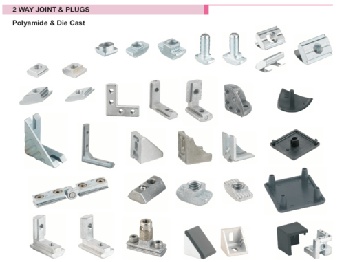 Aluminum Profile And Accessories Aluminum Profiles