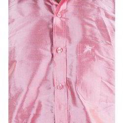 Scot Wilson Pure Silk Plain Silk Shirt