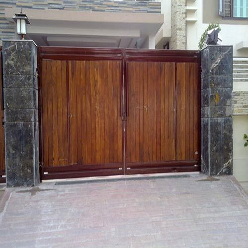 Wooden Gate Panels Manufacturer From