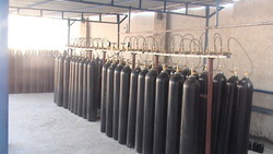 Oxygen Gas Filling Manifold