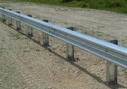 W Metal Beam Galvanized Crash Barrier
