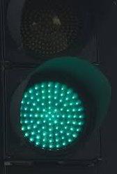 Green LED Traffic Signal