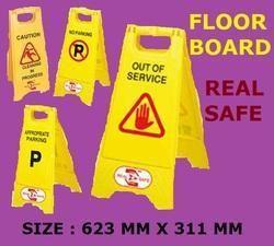 Wet Floor Board