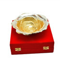Brass Antique Design Glossy Gold Platter