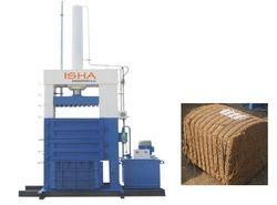 Coir Fiber Baling Press