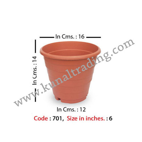 6 Inch Step Planters