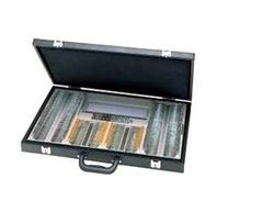 Deluxe Leather Trial Case Briefcase
