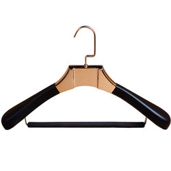 leather coat hangers
