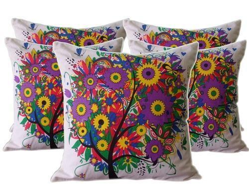 Image result for Printed Cushion cotton Covers