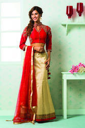 Embroidered Party Wear Lehenga