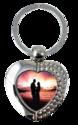 Metal Key Chain -Heart