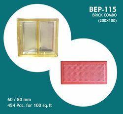 Brick Combo PVC Moulds