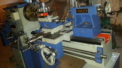 pulley type lathe machine