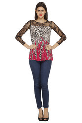 Round Printed Top
