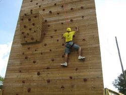 Outdoor Wall Climbing