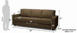 Fabrics Sofa