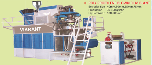 Poly Propylene Blown Film Plant