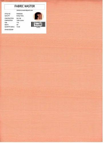 Cotton Dobby Fabric