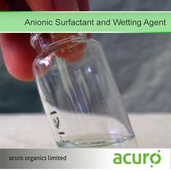 Anionic Surfactant and Wetting Agent