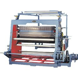 Vertical Type Single Face Paper Corrugation Machine