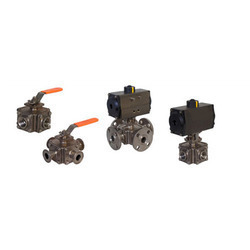 3 Way - 4 Way Ball Valves