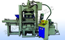 semi automatic bricks interlocking paver block machine