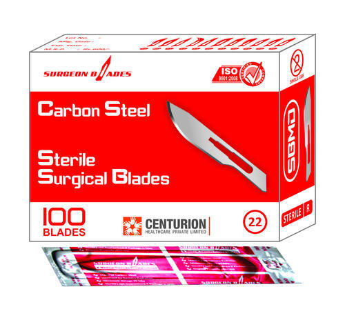 Sterile Surgical Blades Size 22