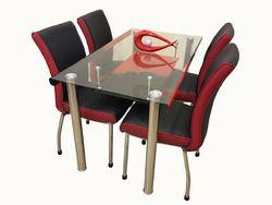 Metal Dining Table Set