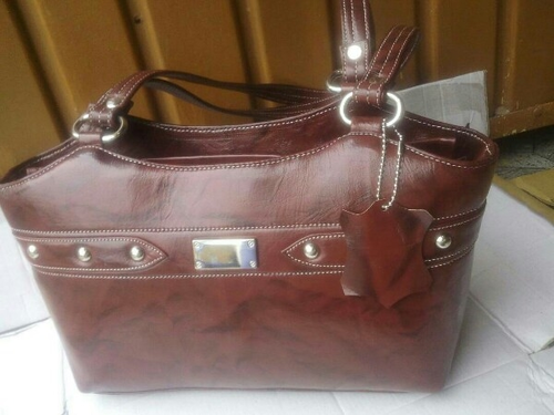 ... Suppliers Exporters in India  premium selection c1e4c 00045 Ladies  Leather Bags ... 5df3d3dba5