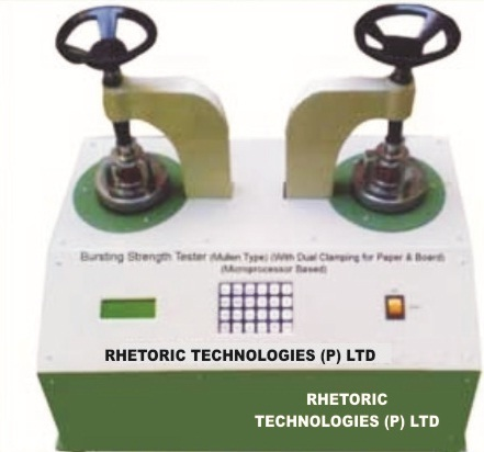 Bursting Strength Tester Microprocessor Rhe-2056 E