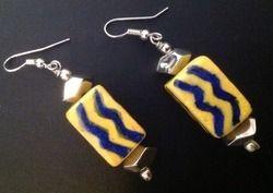 Pottery Earring