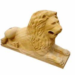 Tiger Sand Stone Figures