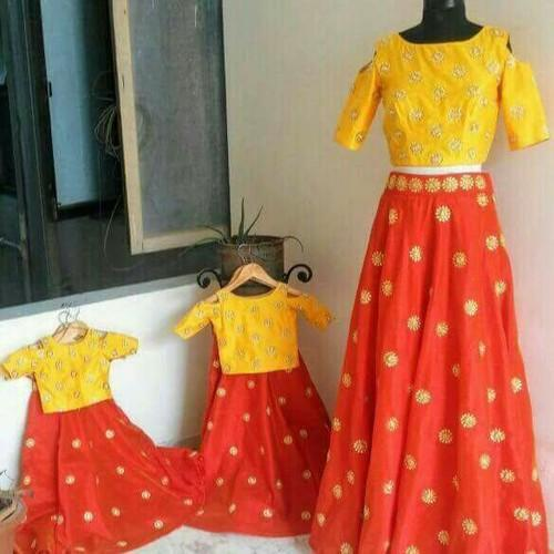 c631433d Mother Daughter Dress - Customised Combo dresses Wholesale Trader ...