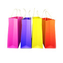 Multi Color Paper Bags