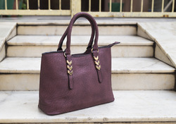 Soft Leather Red Arrow Ladies Bags