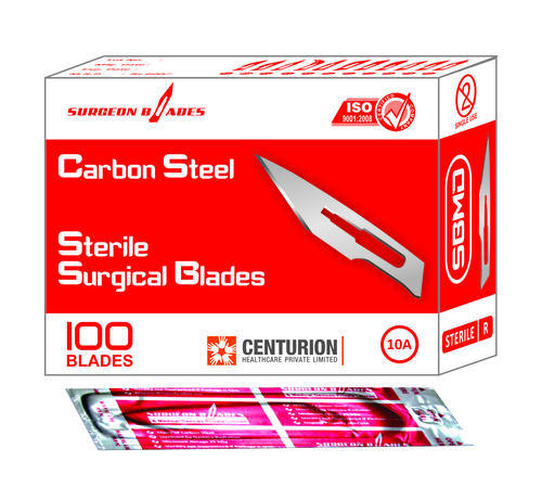 Sterile Surgical Blades Size 10a