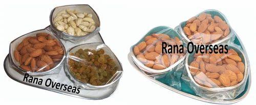 Aluminium Dry Fruit Bowl set