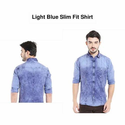 85e877ab47a088 Shirts - Denim Shirt Retailer from Warangal