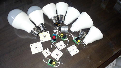 led bulb dob led for 3 watt 5 watt 7 watt 9 watt 12 watt 15 rh bhagwatilightingindustries com 7w led bulb driver circuit diagram