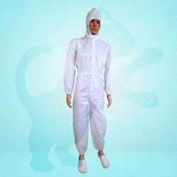 Attached Hood Coverall