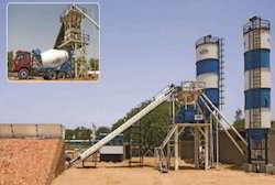 New Design Concrete Batching Plant