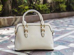 Metallic Crock Handheld Ladies Bags